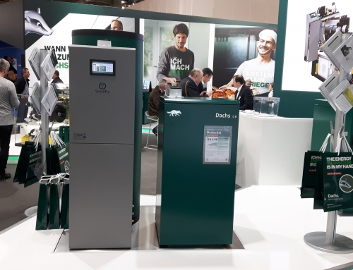 PACE showing the future of domestic heating and power systems at ISH fair